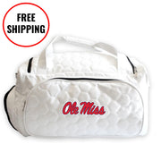 Ole Miss Rebels Soccer Duffel Bag