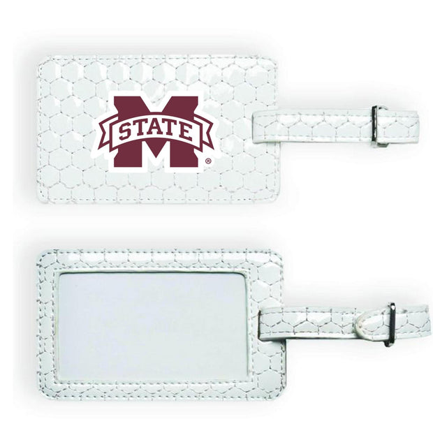 Mississippi State Bulldogs Soccer Luggage Tag