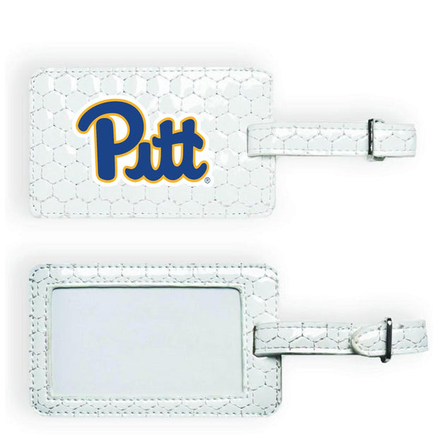 Pitt Panthers Soccer Luggage Tag