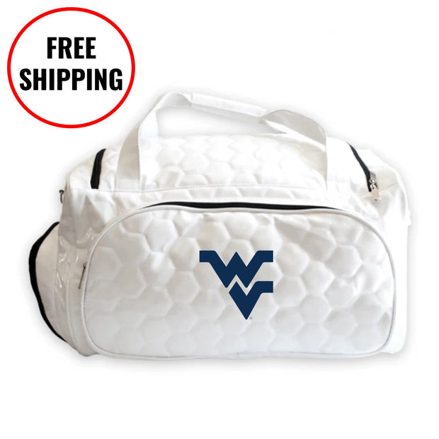 WVU Mountaineers Soccer Duffel Bag