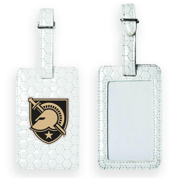 Army Black Knights Soccer Luggage Tag