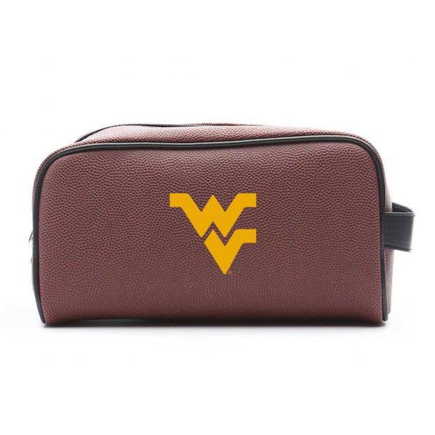 WVU Mountaineers Football Toiletry Bag