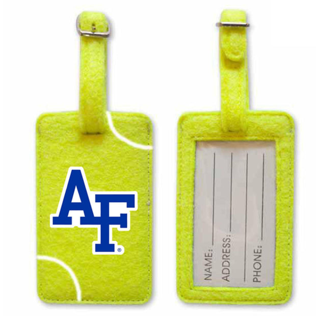 Air Force Falcons Tennis Luggage Tag