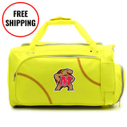 Maryland Terrapins Softball Duffel Bag