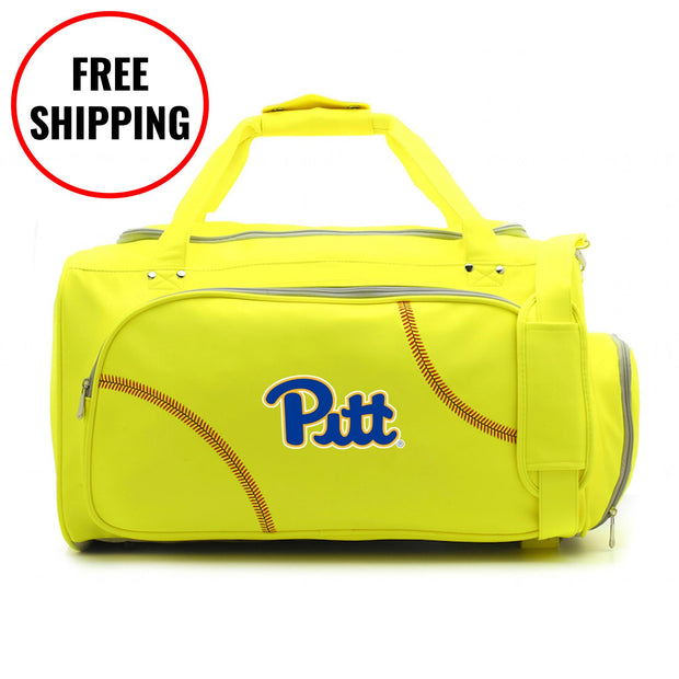 Pitt Panthers Softball Duffel Bag