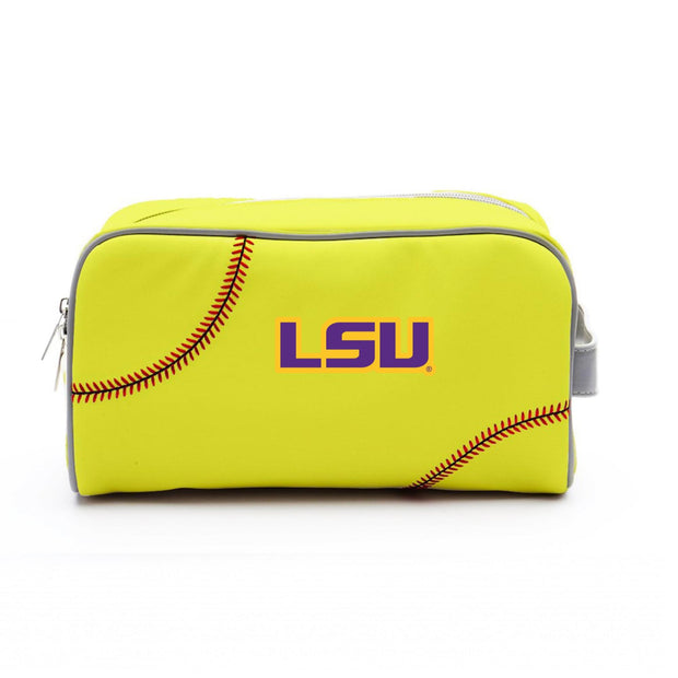 LSU Tigers Softball Toiletry Bag