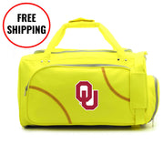 Oklahoma Sooners Softball Duffel Bag