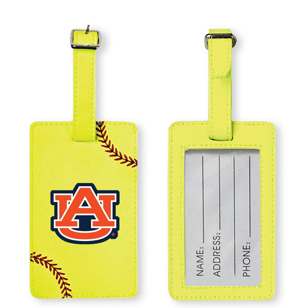 Auburn Tigers Softball Luggage Tag
