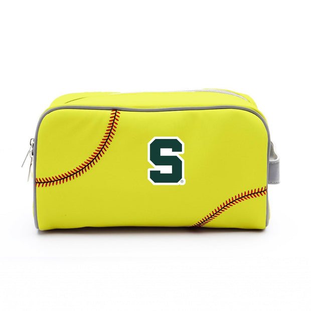 Michigan State Spartans Softball Toiletry Bag
