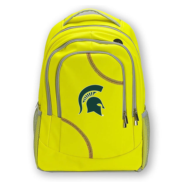 Michigan State Spartans Softball Backpack