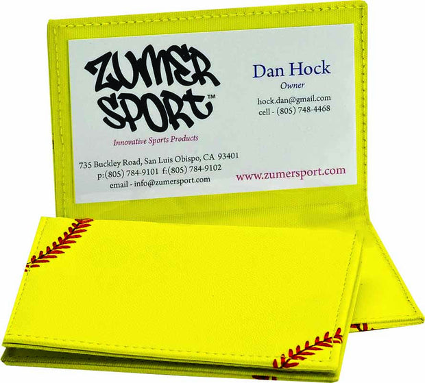 Softball Business Card Holder