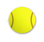 Softball Mouse Pad