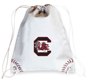 South Carolina Gamecocks Baseball Drawstring Bag
