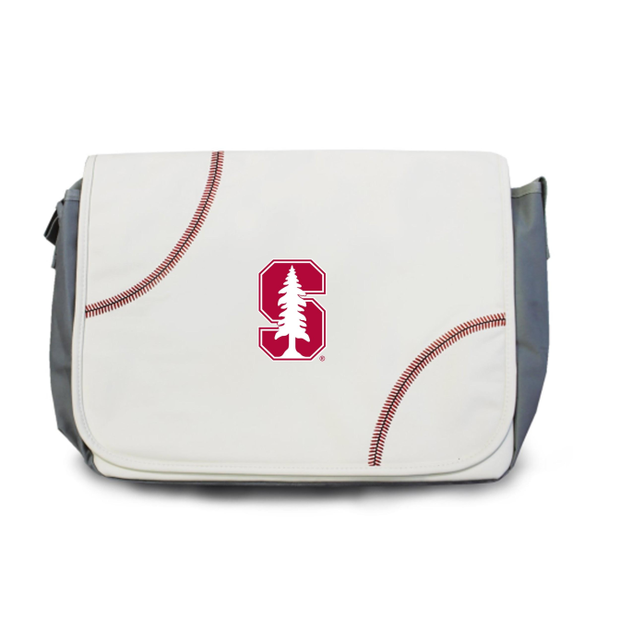 Stanford Cardinal Baseball Messenger Bag