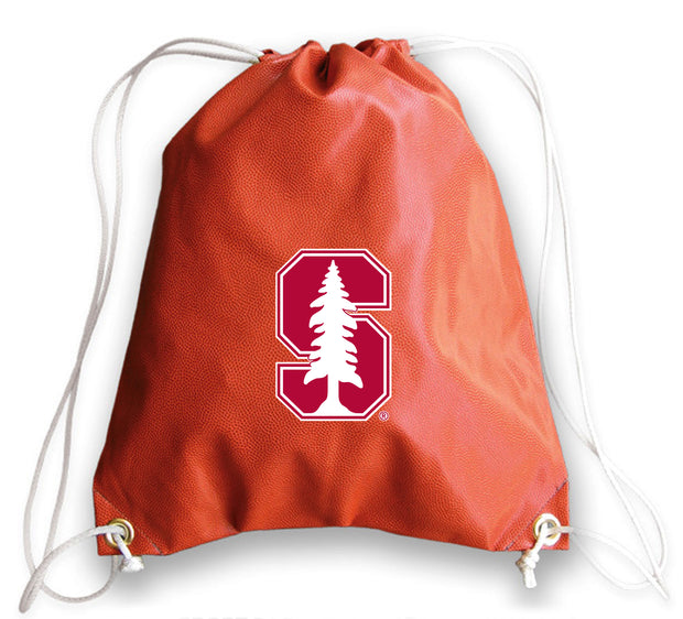 Stanford Cardinal Basketball Drawstring Bag