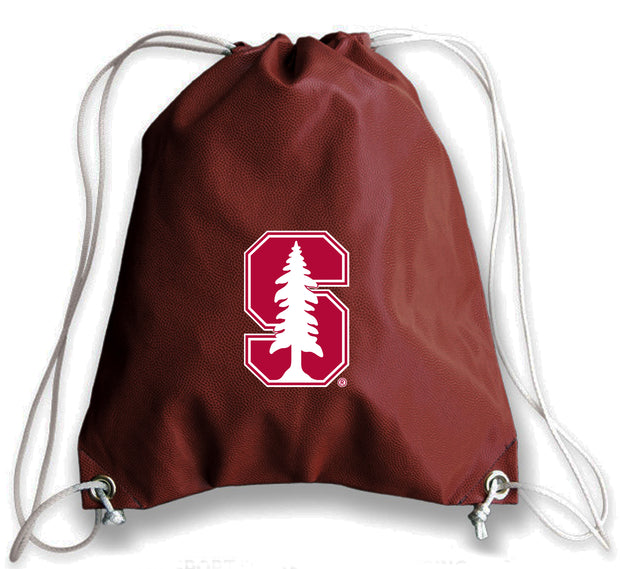 Stanford Cardinal Football Drawstring Bag