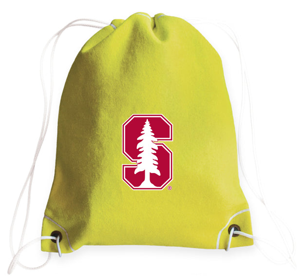 Stanford Cardinal Tennis Drawstring Bag