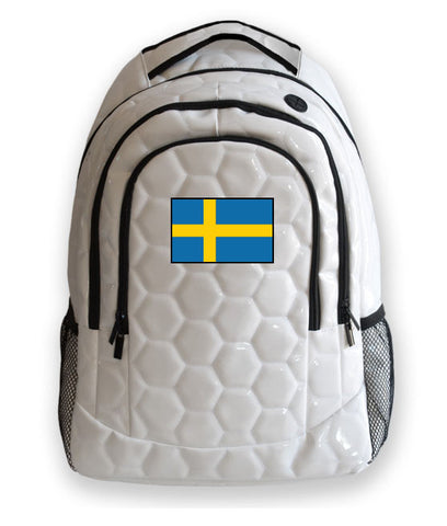 Sweden National Pride Soccer Backpack