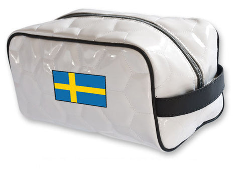 Sweden National Pride Soccer Toiletry Bag