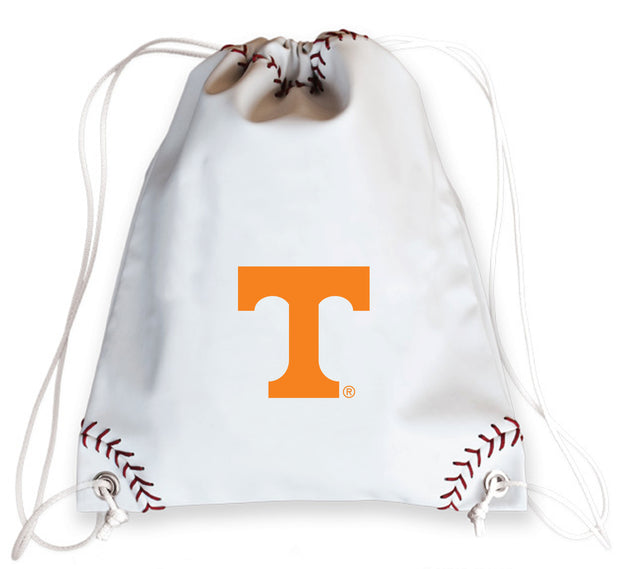 Tennessee Volunteers Baseball Drawstring Bag
