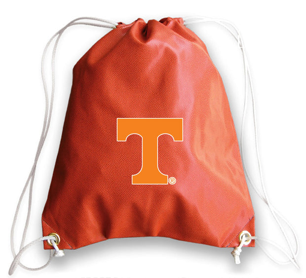 Tennessee Volunteers Basketball Drawstring Bag