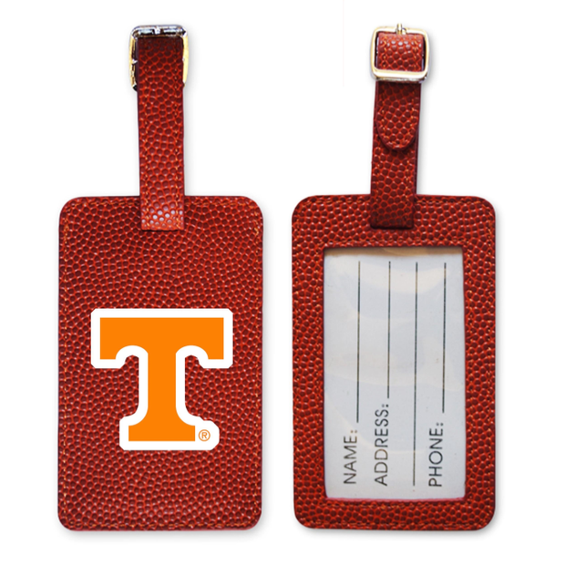 Tennessee Volunteers Basketball Luggage Tag