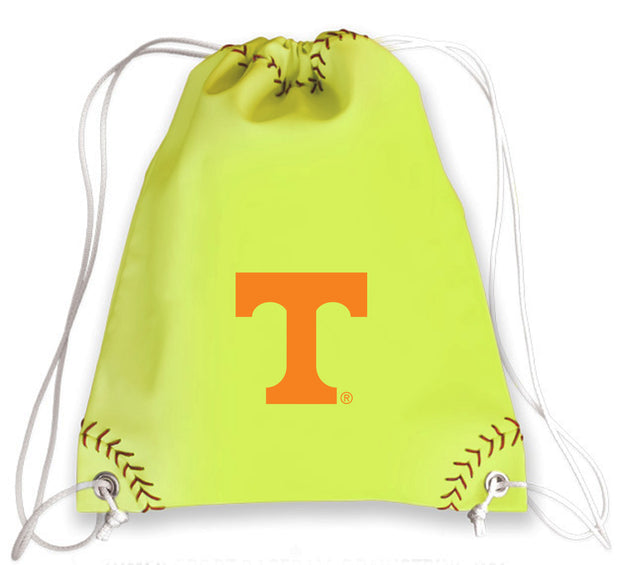 Tennessee Volunteers Softball Drawstring Bag