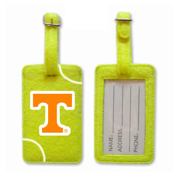 Tennessee Volunteers Tennis Luggage Tag