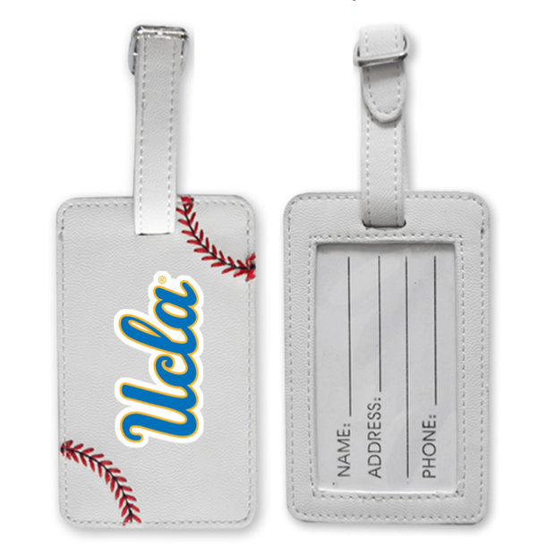 UCLA Bruins Baseball Luggage Tag