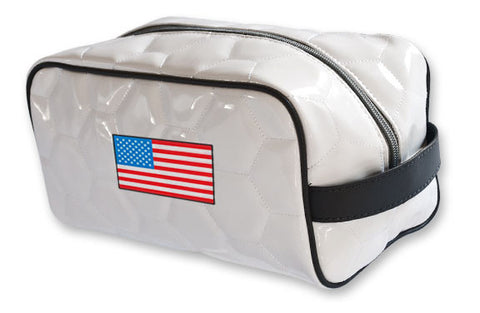 USA National Pride Soccer Toiletry Bag