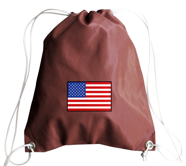 USA Football Drawstring Bag