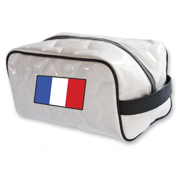 France national team soccer toiletry travel bag