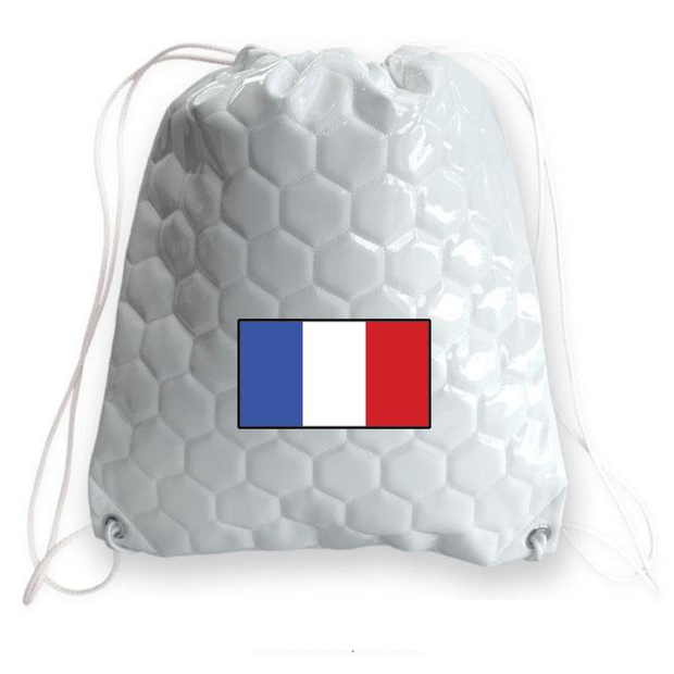 France national team soccer drawstring shoulder bag