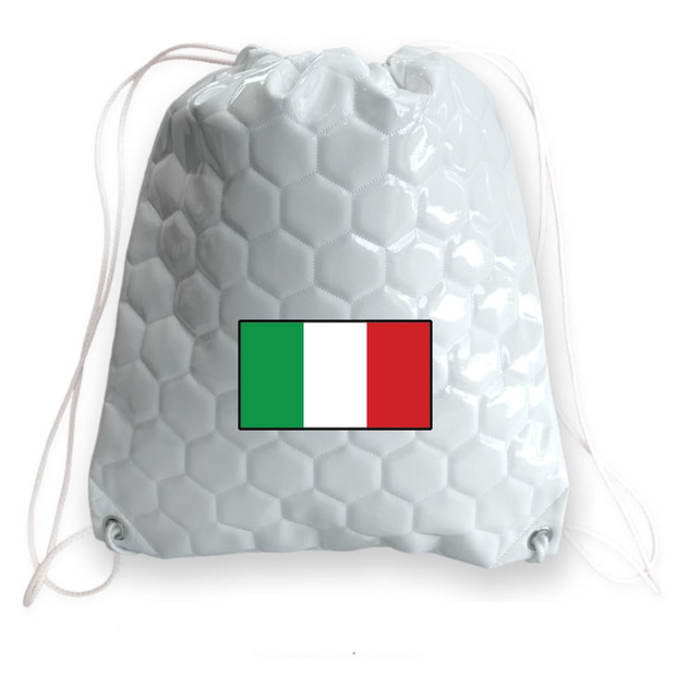 Italy national team soccer drawstring shoulder bag