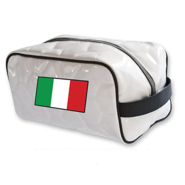 Italy national team soccer toiletry travel bag