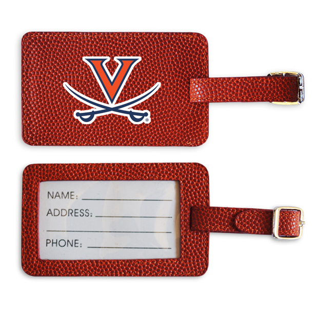 Virginia Cavaliers Basketball Luggage Tag