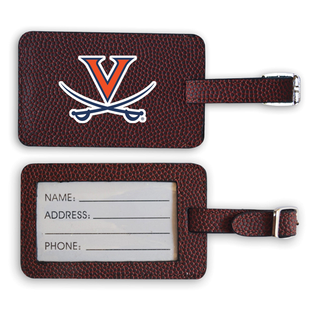 Virginia Cavaliers Football Luggage Tag