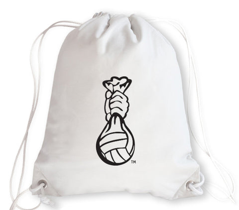 Volleyball Drawstring Bag