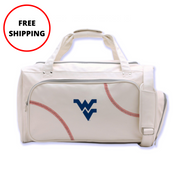 WVU Mountaineers Baseball Duffel Bag