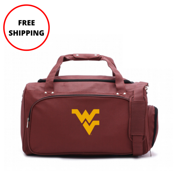 WVU Mountaineers Football Duffel Bag