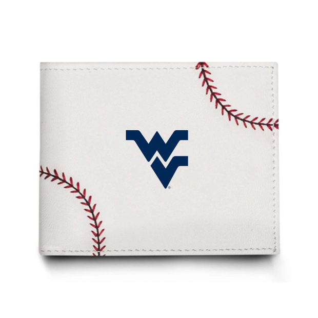 WVU Mountaineers Baseball Men's Wallet