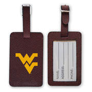 WVU Mountaineers Football Luggage Tag