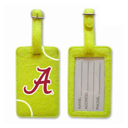 Alabama Crimson Tide Tennis Luggage Tag