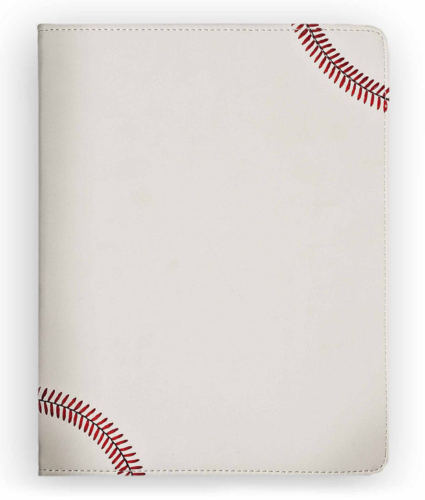 red and white baseball fan ipad cover