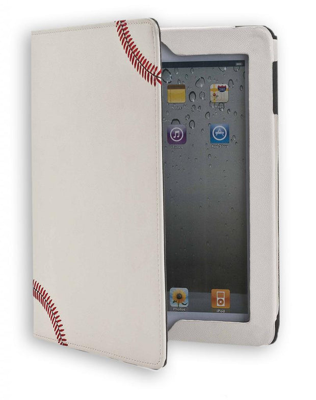 Baseball Ipad Cover Made With Baseball Leather Material