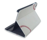 Baseball Mini ipad case made with baseball leather