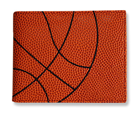 basketball leather men's wallet