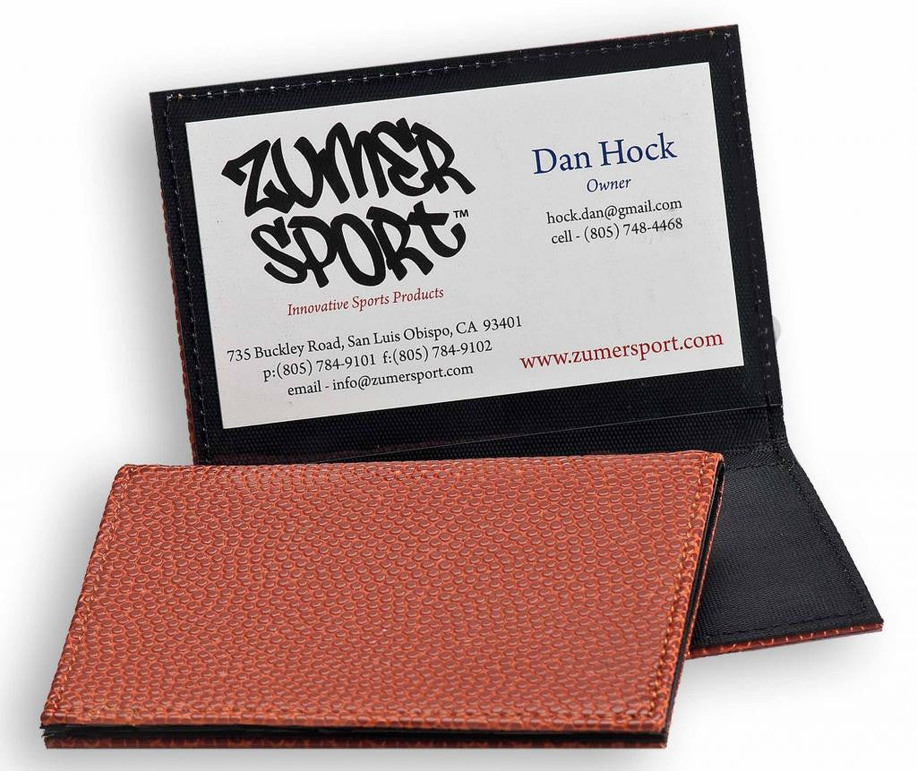 Basketball Business Card Holder | Made From Basketball Leather ...