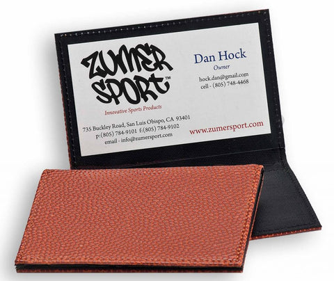 Business Card Holder Made From Basketball Material