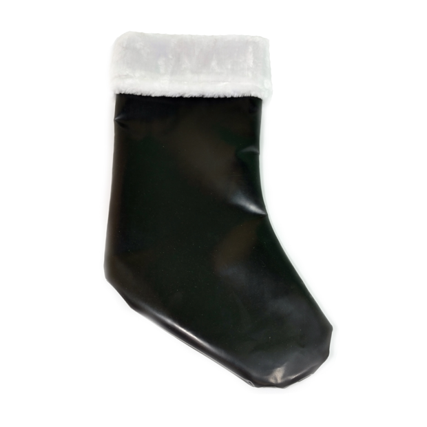 Sports Christmas Stocking made from hockey puck material
